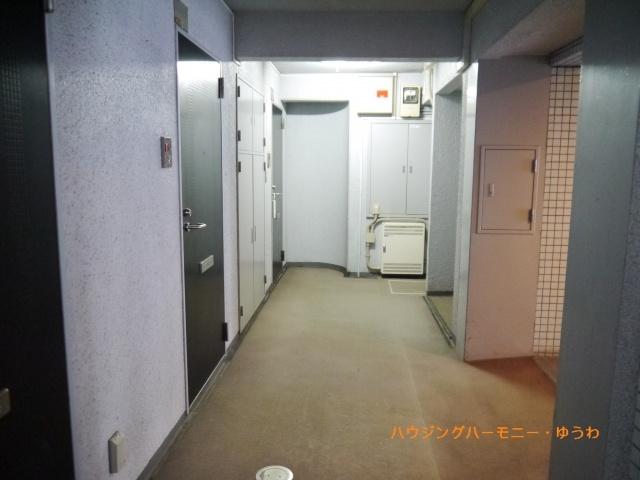 安心の内廊下の構造です。