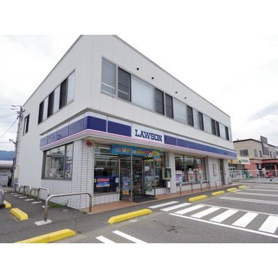 コンビニ「ローソン松本流通団地南店まで596m」