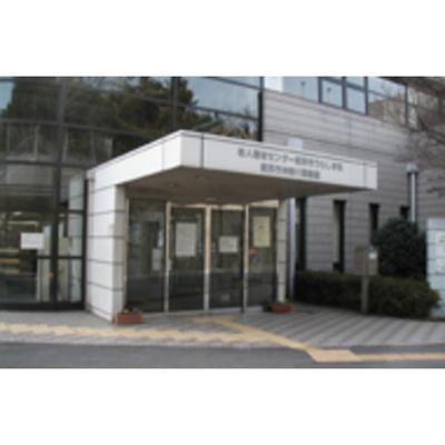 図書館「神奈川図書館まで1100m」横浜市立神奈川図書館