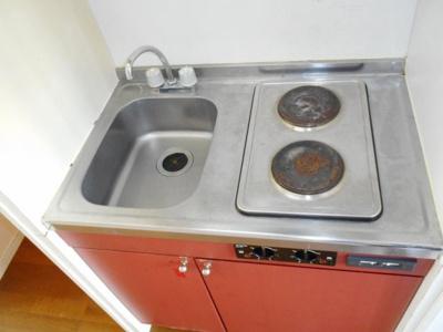 【キッチン】レオパレスケイ