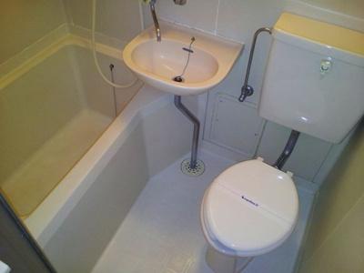 【浴室】レオパレス山際
