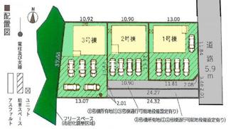 【外観】沼津市中沢田第2 新築戸建 全3棟 (3号棟)
