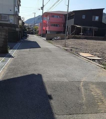 【前面道路含む現地写真】いの町枝川