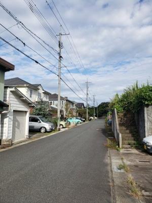 【前面道路含む現地写真】鳥取市桂見土地