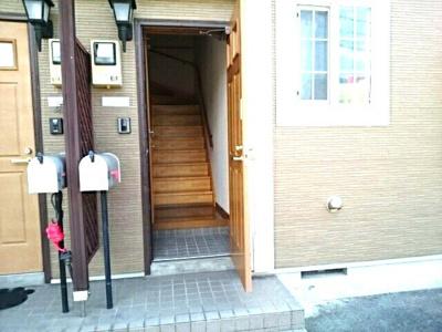 【玄関】オーデ・アヴニール赤坂1