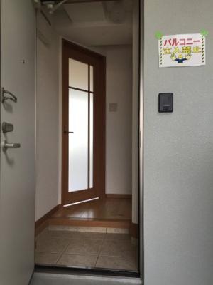 【玄関】ロハスガーデンイハ