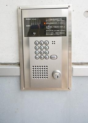安心の「オートロックセキュリティ」です。