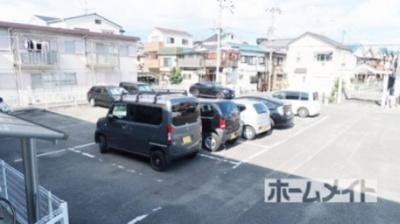 【駐車場】松村ハイツC棟
