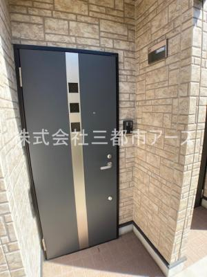 【玄関】グリーンノア五反田