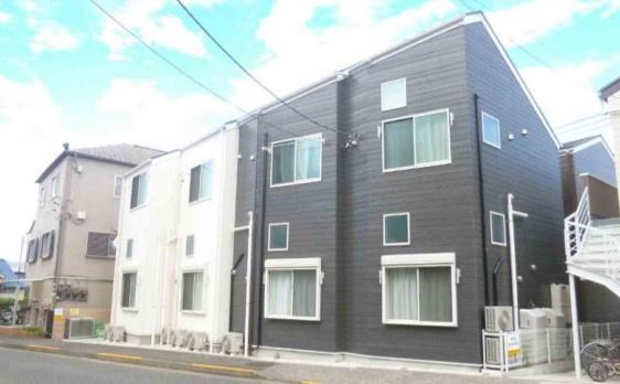 【外観】多摩市貝取1丁目の一棟売りアパート