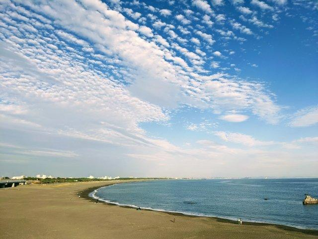 【大磯の海】サーフィン出来るポイントまでは西湘バイパスを利用してお車で約3分の距離です。
