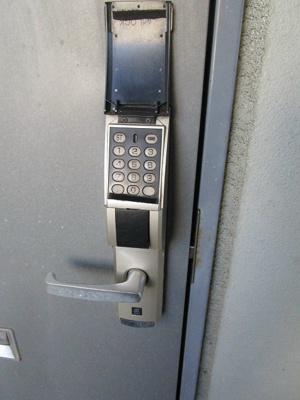 デジタルロックです
