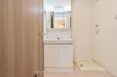 【独立洗面台】矢巾町南矢幅アパート