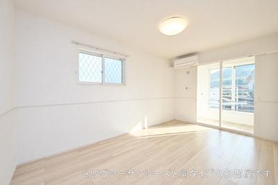 【居間・リビング】矢巾町南矢幅アパート