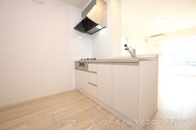 【キッチン】矢巾町南矢幅アパート