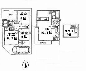 【参考プラン】杉並区浜田山4丁目 売地
