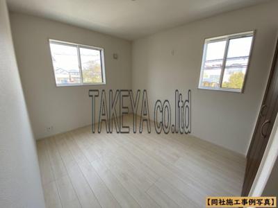 【同社施工事例写真】2面採光の為、全居室とても明るく風通りも良好です