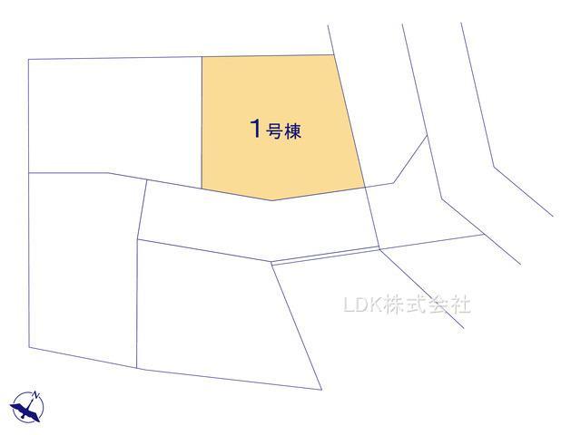 【区画図】新築戸建/富士見市関沢3丁目(全4棟)