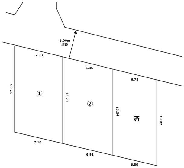 【土地図】杉並区浜田山4丁目 売地