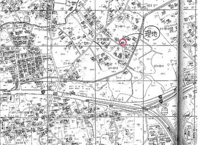 【地図】[平屋]柳宿・貸別荘