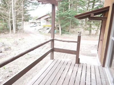 【バルコニー】[平屋]柳宿・貸別荘