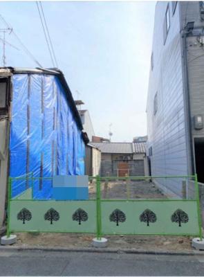 【外観】上京区東堀町 建築条件付 売土地