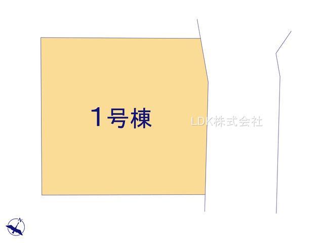 【区画図】新築戸建/富士見市大字水子(全1棟)
