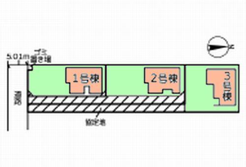 小田原市田島20-1期 新築一戸建て 全3棟
