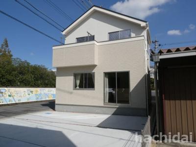 碧南市中松町新築分譲住宅1号棟写真です。2021年8月撮影