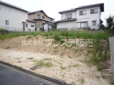 【外観】奈良市右京3丁目の売地 全2区画