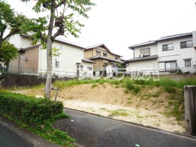 【前面道路含む現地写真】奈良市右京3丁目の売地 全2区画