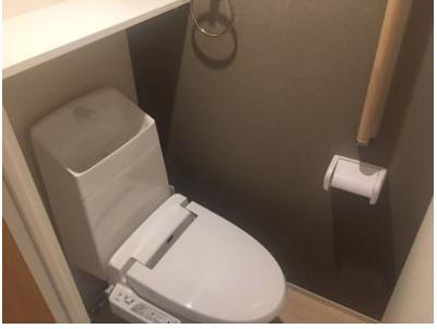 【トイレ】クレイノ葵芳 2号館