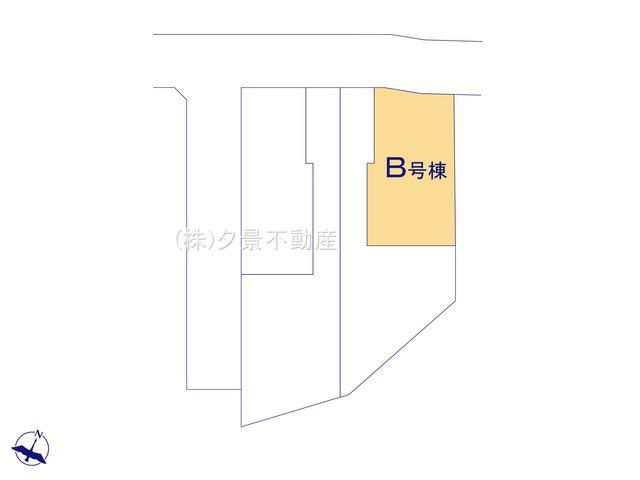 【区画図】中央区鈴谷4丁目7-2(B号棟)新築一戸建てメルディア