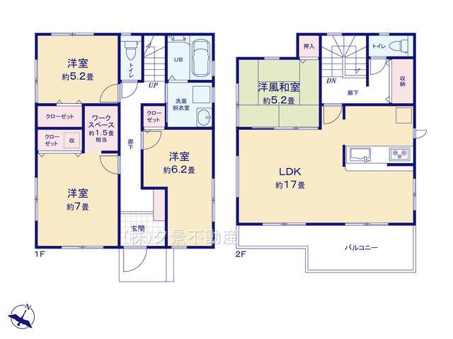 川口市上青木6丁目24(1号棟)新築一戸建てリーブルガーデン