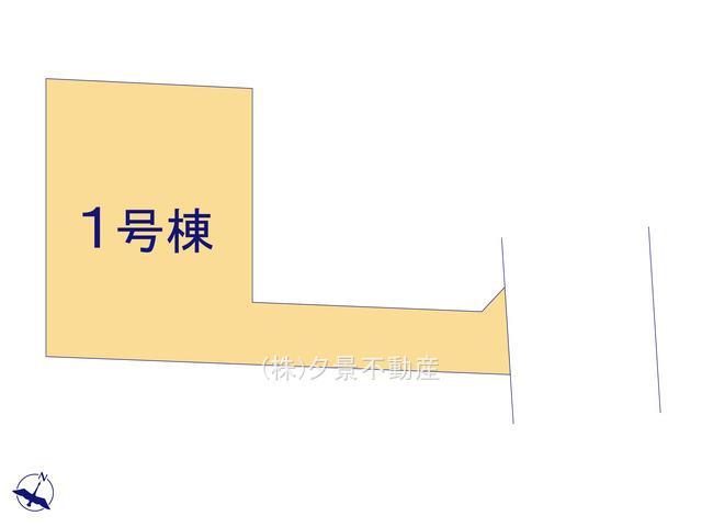 【区画図】川口市上青木6丁目24(1号棟)新築一戸建てリーブルガーデン