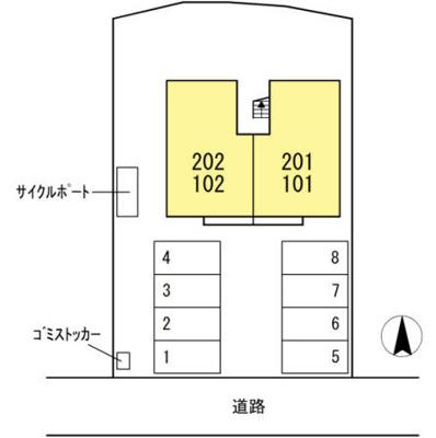 【区画図】エニシャス