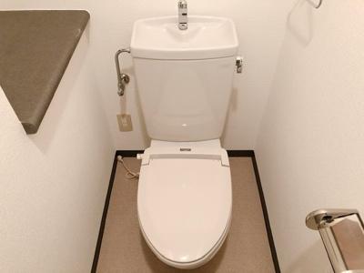 【トイレ】ソレイユ太子堂