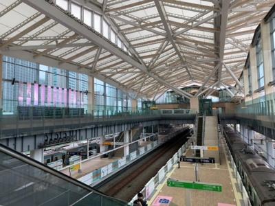 JR山手線「高輪ゲートウェイ」駅徒歩14分(2021.9.30撮影)。