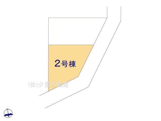 【区画図】岩槻区宮町2丁目2-23(2号棟)新築一戸建てクレイドルガーデン