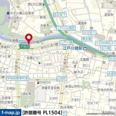 【地図】パレ・ドール文京第二