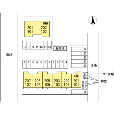 【区画図】シュプールA