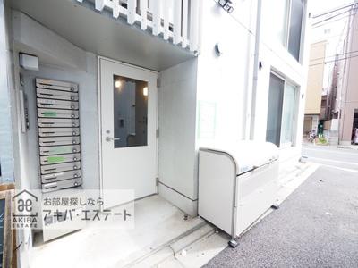 【エントランス】創新三ノ輪レジデンス
