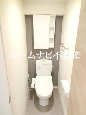 【トイレ】ロイジェント上野桜木