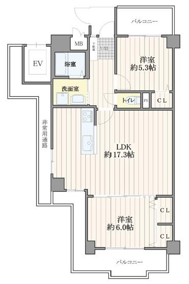 小阪オリエントハウス ☆室内フルリフォーム予定!