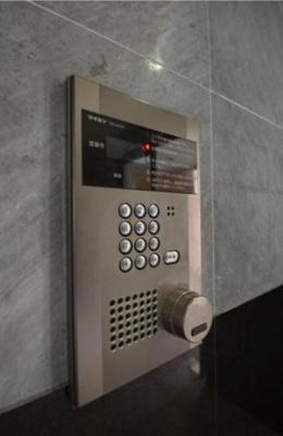 セキュリティ体制も安心のオートロック完備。