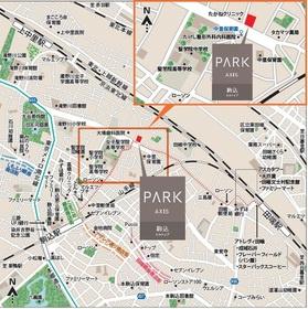 【地図】パークアクシス駒込HILLTOP