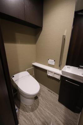 【トイレ】ガーデンヒルズ四ツ谷迎賓の森