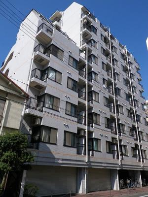 JR蒲田駅より徒歩8分のマンションです。