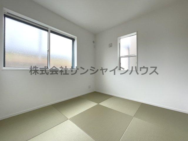 和室4.5帖、畳・・・ゆっくりと寛げる空間です!