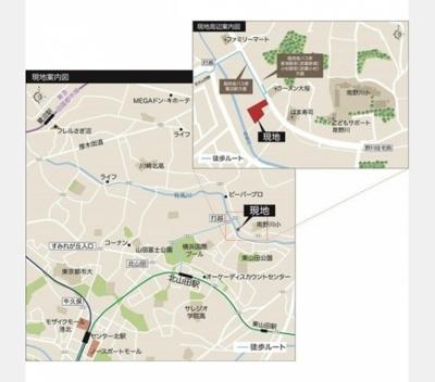 【地図】ENISIA